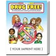 Drug Free Coloring & Activity Book