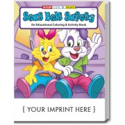 Seat Belt Safety Coloring & Activity Book