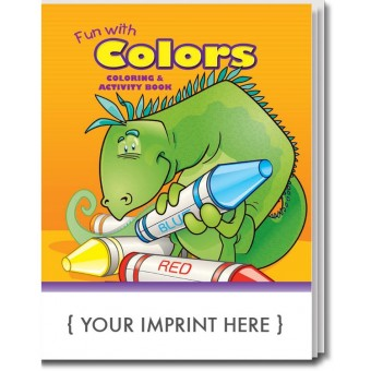 Fun With Colors Coloring & Activity Book
