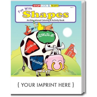 Fun With Shapes Coloring & Activity Book