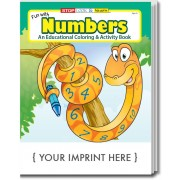 Fun With Numbers Coloring & Activity Book