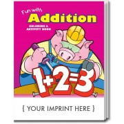 Fun With Addition Coloring & Activity Book