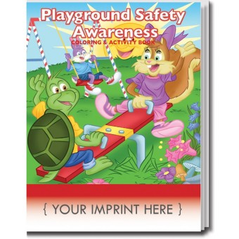 Playground Safety Awareness Coloring & Activity Book