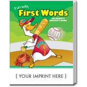 Fun With First Words Coloring & Activity Book