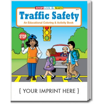 Traffic Safety Awareness Coloring & Activity Book