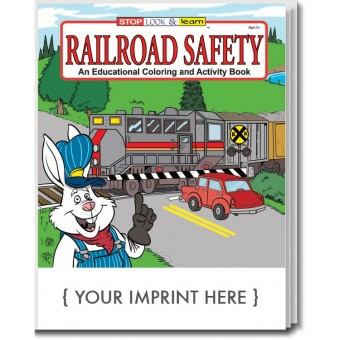 Railroad Safety Coloring & Activity Book