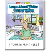 Learn About Water Conservation Coloring & Activity Book