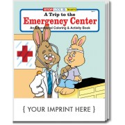 A Trip to the Emergency Center Coloring & Activity Book