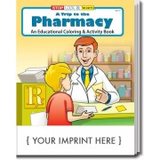 A Trip to the Pharmacy Coloring & Activity Book