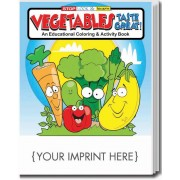 Vegetables Taste Great! Coloring & Activity Book
