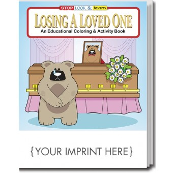 Losing A Loved One Coloring & Activity Book