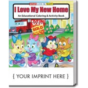I Love My New Home Coloring & Activity Book