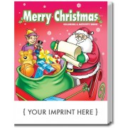 Merry Christmas Coloring & Activity Book