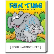 Fun Time Coloring & Activity Book