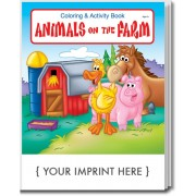 Animals on the Farm Coloring & Activity Book