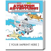 Aviation Adventures Coloring & Activity Book