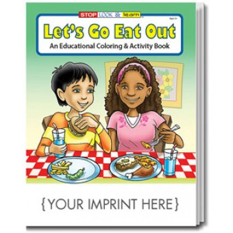 Let's Go Eat Out Coloring & Activity Book