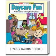 Daycare Fun Coloring & Activity Book