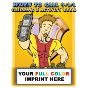 When To Call 9-1-1 Coloring Book