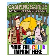 Camping Safety Coloring Book