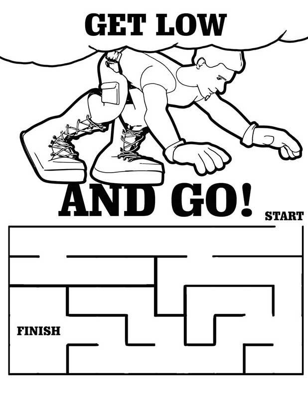 kids fire prevention coloring pages - photo#32