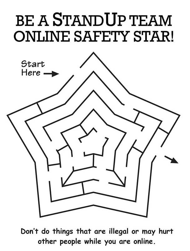 Angri birds espas coloring pages for Internet safety coloring pages