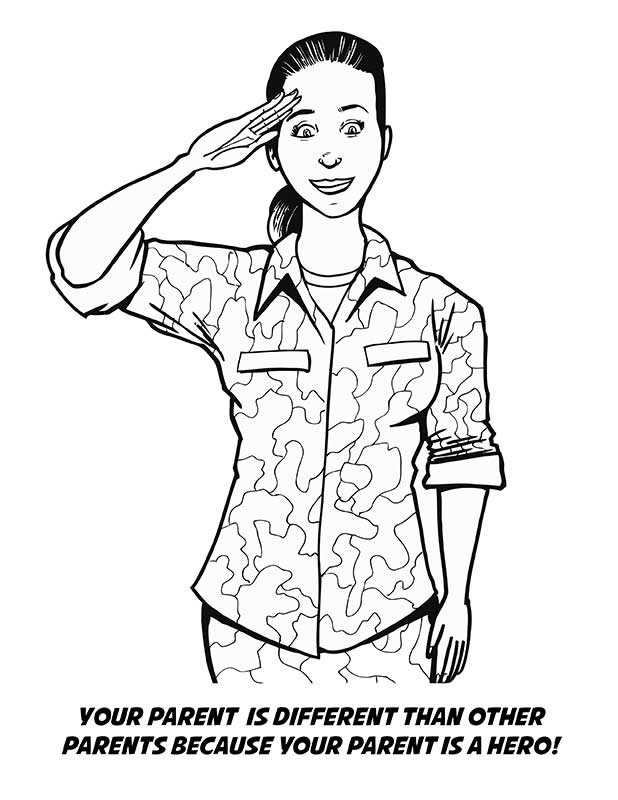 Deployment Coloring Book