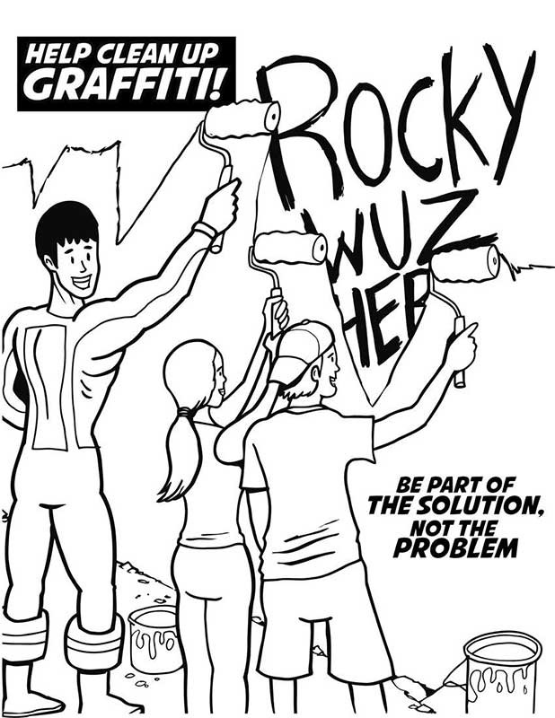 drug awareness coloring pages - photo#28