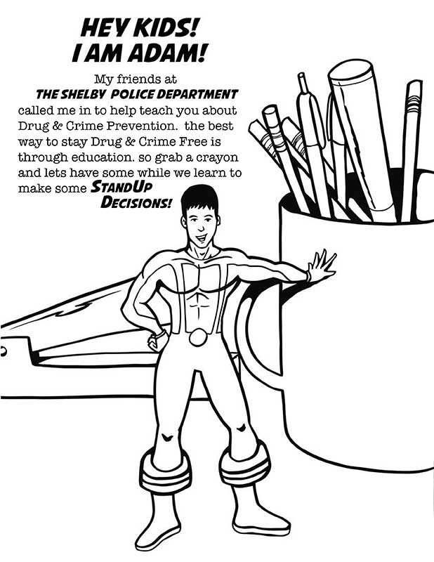 drug awareness coloring pages - photo#19