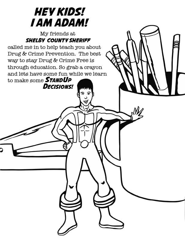 medicine safety coloring pages - photo#16