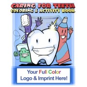 Caring for Teeth Coloring Book