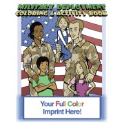Military Deployment Coloring Book