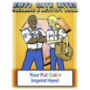 EMTs Save Lives Coloring Book