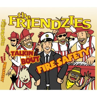 "The Friendzies ""Talkin bout Fire Safety"" CD"