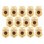 Gold Badge Sticker Sheet