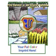 Natural Disaster Safety Coloring Book