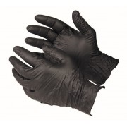 NITRILE GLOVES BLACK