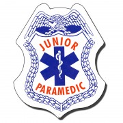 Stickers Jr Paramedic/EMS
