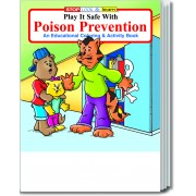 Play It Safe With Poison Prevention Coloring & Activity Book