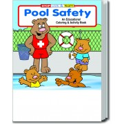 Pool Safety Coloring & Activity Book