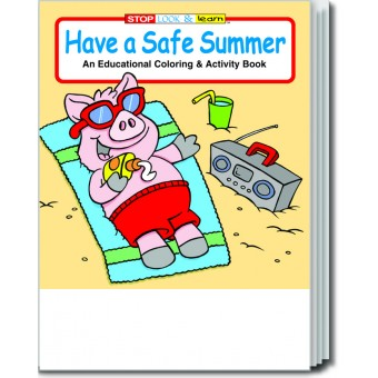 Have a Safe Summer Coloring & Activity Book