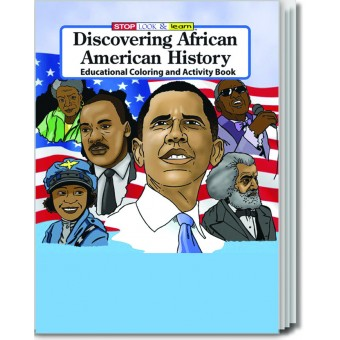 Discovering African American History Coloring & Activity Book