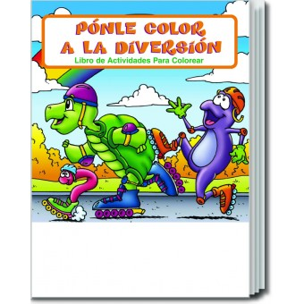 Fun To Color (Spanish) Coloring & Activity Book