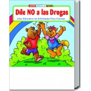 Say No to Drugs (Spanish) Coloring and Activity Book