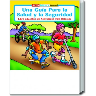 A Guide to Health and Safety (Spanish) Coloring & Activity Book