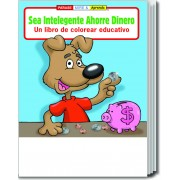 Be Smart, Save Money (Spanish) Coloring & Activity Book