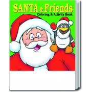 Santa and Friends Coloring & Activity Book