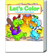 Let's Color Coloring & Activity Book