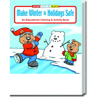 Make Winter and Holidays Safe Coloring & Activity Book