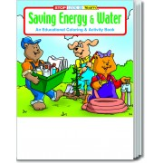 Saving Energy and Water Coloring & Activity Book